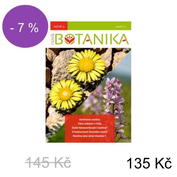 Elektronické předplatné časopisu Nová Botanika - Ročník: 2021 - 145 Kč